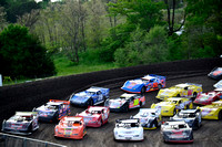 Boone Speedway Late Models Memorial Day 27-May-15